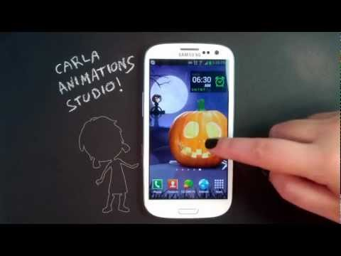Video of Halloween Pumpkins HD