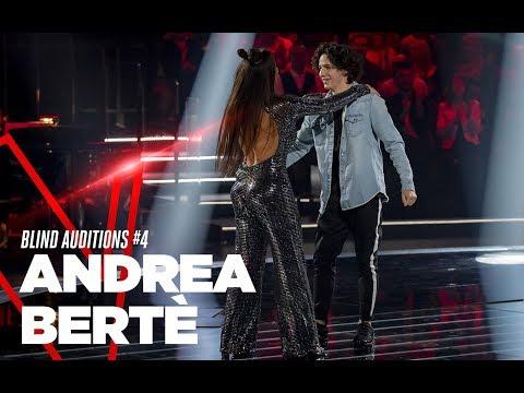 "Andrea Bertè ""We Don't Talk Anymore"" - Blind Auditions #4 - TVOI 2019 видео"