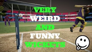 Hey guys presenting you all with some of the most Funny and Weird Wickets in Don Bradman cricket 17.