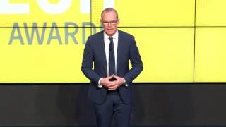 Minister Simon Coveney T.D. speaking at THINKTECH Awards