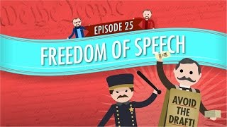 Today, FINALLY, Craig is going to talk about Free Speech! Now, free speech is so important because it not only allows you to critique the government, but it also ...