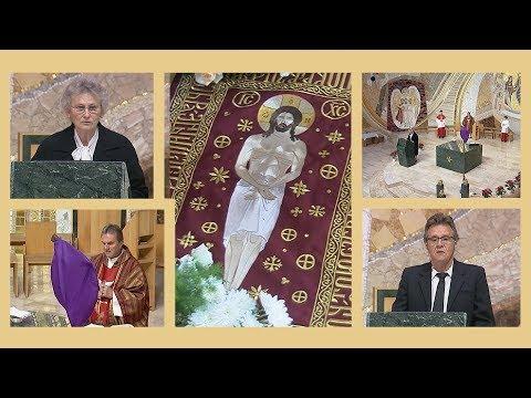 2020-04-10 2020-04-10 Nagypénteki csonka szertartás a Gazdagréti Szent Angyalok Plébánián