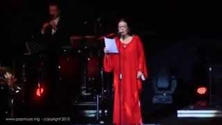 Nana Mouskouri chante en malagasy au CCI Ivato  Encore plus sur www.popmuse.mg.