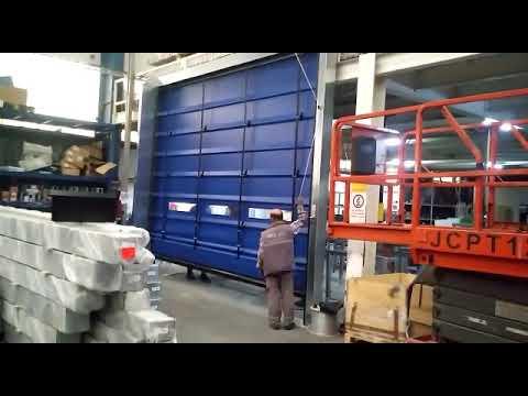 FOLDER Model Katlanır PVC Kapı