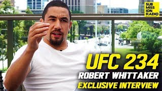 Robert Whittaker on Israel Adesanya, Predicts He'll