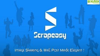 Scrapeasy- facebook status app YouTube video