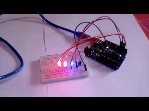 Arduino Tutorial #1 -  LED Blinking Basics -  LED Patterns 2017