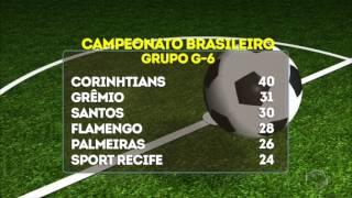 Tabela com resultado dos jogos do Brasileirão