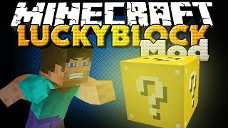Minecraft Mod - Lucky Block Mod - Gambling W/ Blocks
