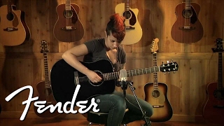 Fender CD-60SCE - BK Video