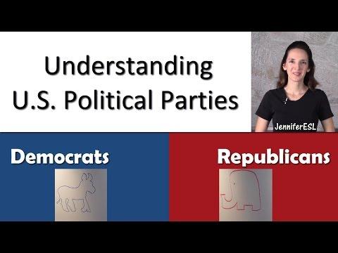 U.S. Political Parties - Talking Politics in American English - Vocabulary