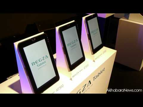 , title : 'Regza Tablet AT300, Toshiba's first Android 3.0 Tablet unveiled in Japan'