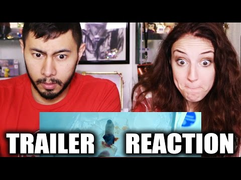 PHOBIA trailer reaction | Jaby Koay & Hope Jaymes