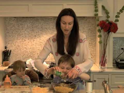 Cooking Quesadilla with kids at Elizabeth's Kind Cafe.com
