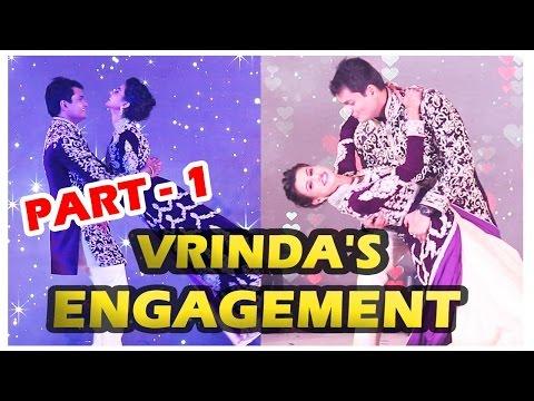 Vrinda Dawda gets engaged to Bhavin Mehta - Part -