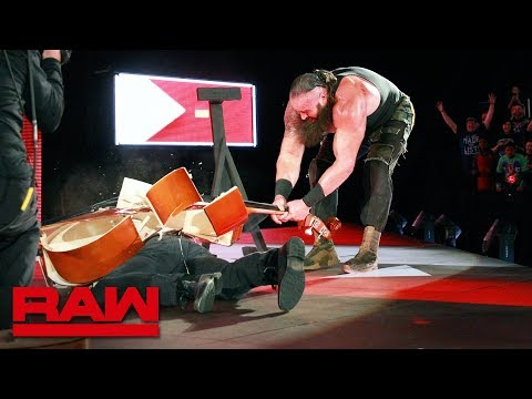 Braun Strowman and Elias clash in first-ever Symphony of Destruction Match: Raw, March 5, 2018