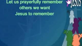 Video Jesus Remember Me MP3, 3GP, MP4, WEBM, AVI, FLV Mei 2018