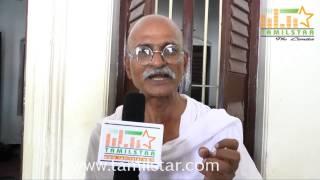Gandhi Kanagaraj at Kamaraj Movie Shooting Spot