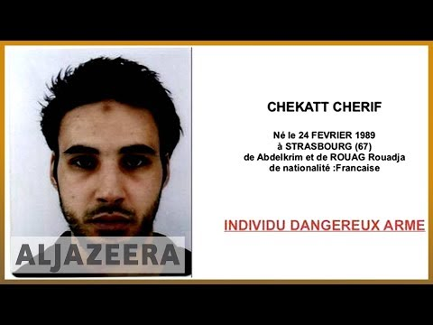 🇫🇷French authorities issue wanted poster for Strasbourg attacker | Al Jazeera English