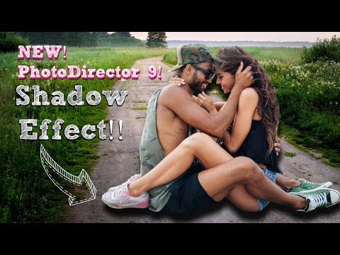 PhotoDirector 9 Tutorial Replace Background & Add Shadow Effect