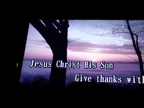 Give Thanks (Christian Gospel Song) At Karaoke Duet 35 Manhattan New York