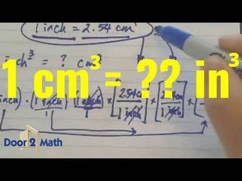 *How many cubic inches is 1 cubic centimeter?