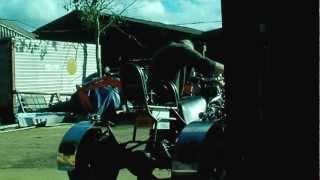 9. VMAX Trike engine test