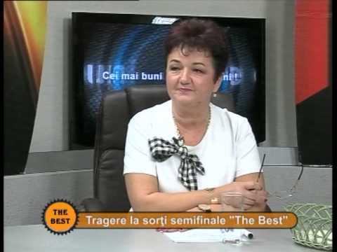 Tragerea la sorți pentru semifinalele The Best – Cristina Petre și Petre Năchilă – 12 noiembrie 2014