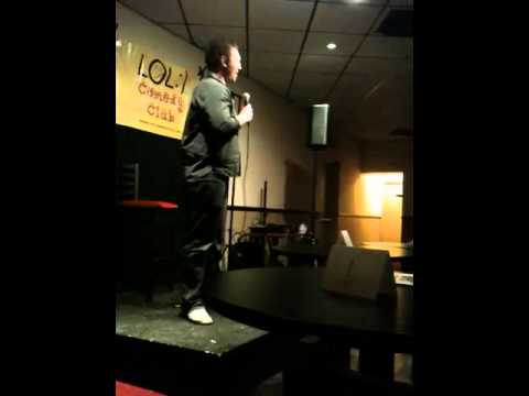 Dan Farley in Paulsboro, NJ's Own L.O.L. Comedy club
