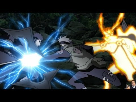 Naruto Shippuden Episode 362 -ナルト- 疾風伝 Review -- Ten Tails Revived & Naruto/Kakashi Vs Obito/Madara