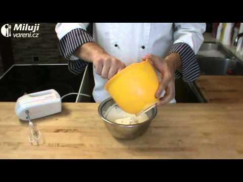 Limetková pěna s mangem