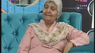 Shaheen Attiq-ur-Rahman addressing in Juggan Morning Show on 08 March International Women Day