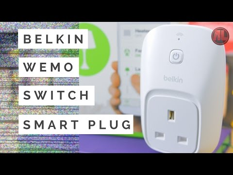 Belkin WeMO Switch Smart Plug Unboxing, Setup & Review - Is It Worth It?