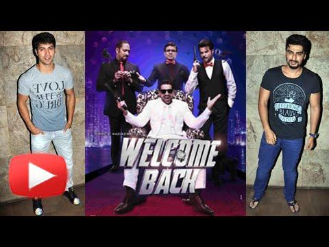 Welcome Back Screening : Arjun Kapoor, Varun Dhawa