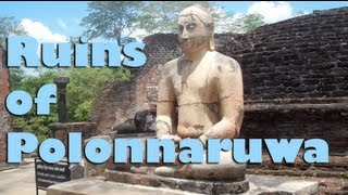 Polonnaruwa Sri Lanka  City new picture : Ruins at Polonnaruwa - Sri Lanka, Asia