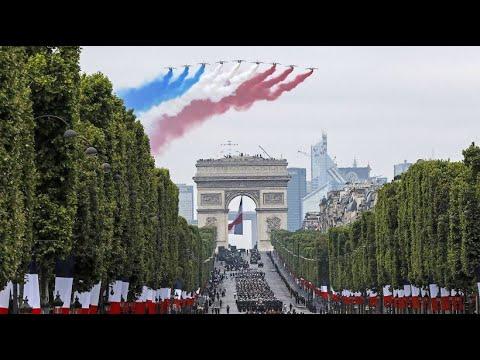 Frankreich: Nationalfeiertag mit großer Militärparade