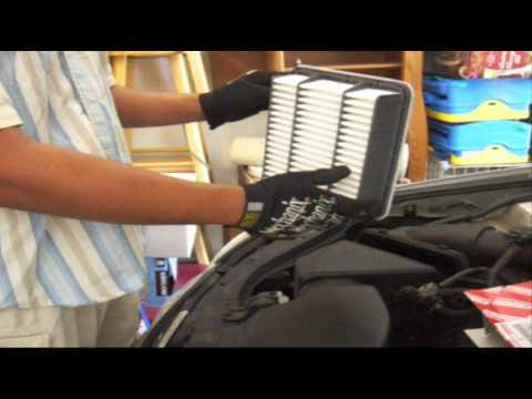 Lexus GS300, 2001 – Engine Air Filter Replacement (DIY $20-30, Save ~$80)