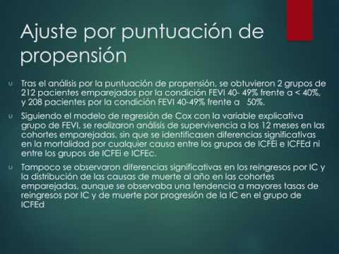 FEy intermedia para estratificar ICC. Residencia de Cardiología. Hospital C. Argerich. Buenos Aires
