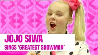 "Video JoJo Siwa Sings ""The Greatest Showman"" + Kids Choice Awards Interview MP3, 3GP, MP4, WEBM, AVI, FLV Mei 2018"