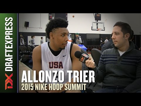 Allonzo Trier - 2015 Hoop Summit - DraftExpress Interview