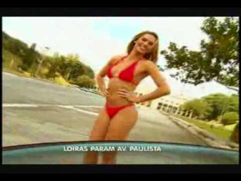 PAULA DONATI -LOIRAS DO PROGRAMA DO GUGU PARAM A PAULISTA