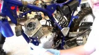 4. How to Rebuild Top End for Yamaha TTR 125 Part I