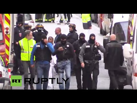 Parigi: il video del blitz a Saint-Denis, il covo dei terroristi