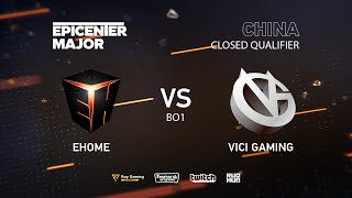 EHOME vs Vici Gaming, EPICENTER Major 2019 CN Closed Quals , bo1 [Mrdoubld]