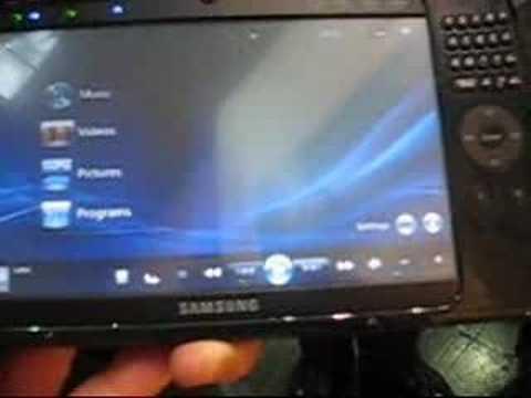 Год назад началось бурное развитие нового формата пк - umpc (ultra mobile pc)