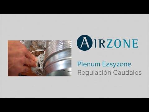 Plénum Easyzone: regulación de caudales
