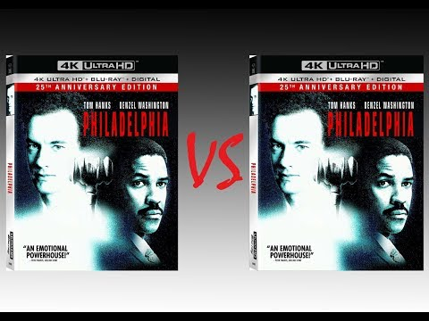 ▶ Comparison Of Philadelphia 4K HDR10 Vs Philadelphia REMASTERED Blu-Ray Edition