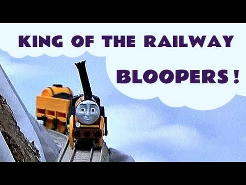 King Of The Railway Thomas & Friends Funny Accidents Crashes Bloopers Kids Toy Train Set