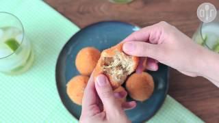 Coxinhas - brazylijskie krokiety z kurczakiem