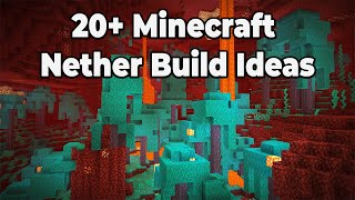 20+ Minecraft 1.16 Build Ideas for the Nether Update! Building Tips and Tricks